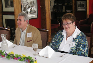 Photo: Carlos Hawley and Annette Morrow