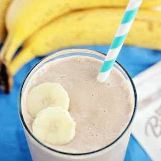 Chocolate Peanut Butter Breakfast Smoothie.
