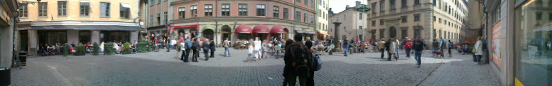 Photo: The Square in old Stokholm