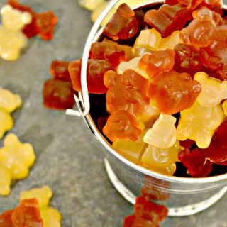 Healthy Homemade Gummy Bears