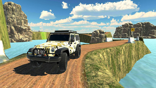 Offroad Jeep Army SUV Mountain Driving Simulator 1.3 screenshots 2
