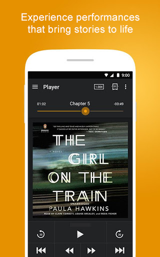 Screenshot 2 for Audible's Android app'