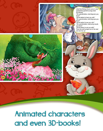 Azbooks - kid's fairy tales, songs, poems & games screenshot 15