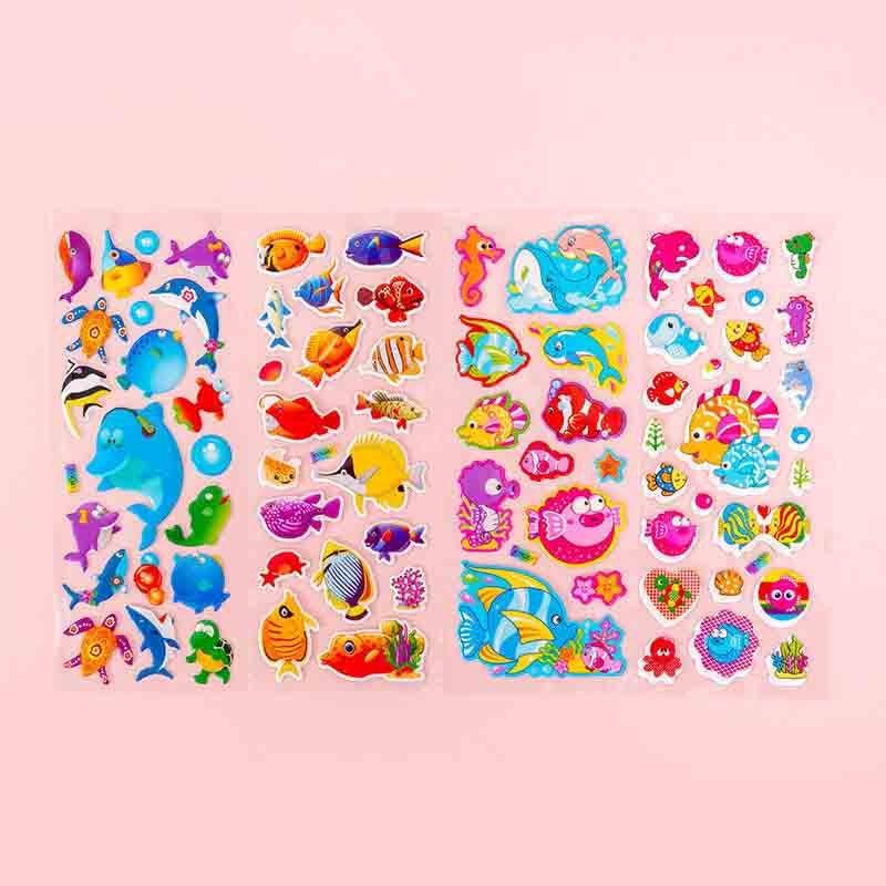 Super-cute 3D Children Stickers for Rewards
