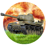 Army Tank Battle War Armored Combat Vehicle Icon