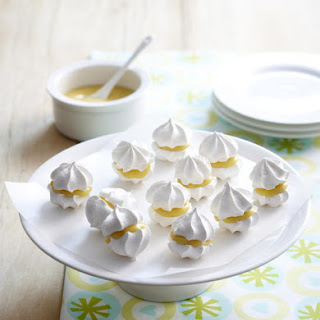 Passionfruit Meringue Kisses