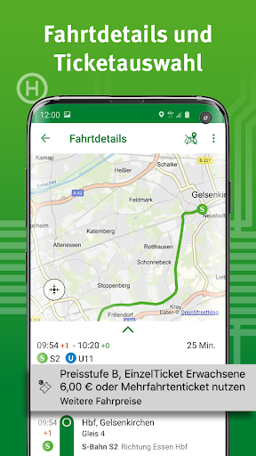 VRR-App - Fahrplanauskunft 5.37.14418 screenshots 4