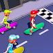 スケートボードラッシュターボフリップスタースケーター