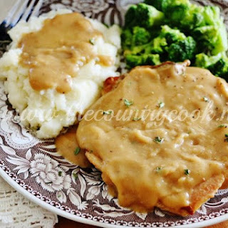 Crock Pot Smothered Pork Chops.
