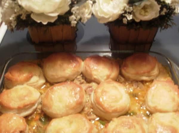 Aprie's Oven Tasty Biscuit, Turkey Pot Pie Recipe