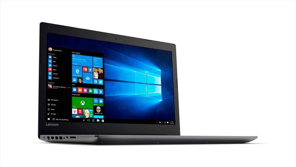 Фото1  Ноутбук Lenovo IdeaPad 320-15 Onyx Black (81BG00QNRA)