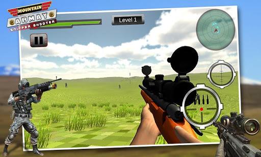 山狙擊手射擊遊戲(3D)- Mountain Shooter