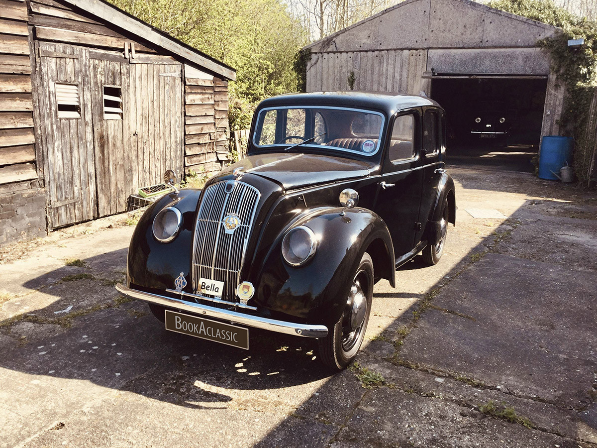 Morris Eight Hire Diss Norfolk