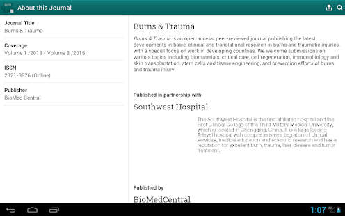 Burns and Trauma- screenshot thumbnail