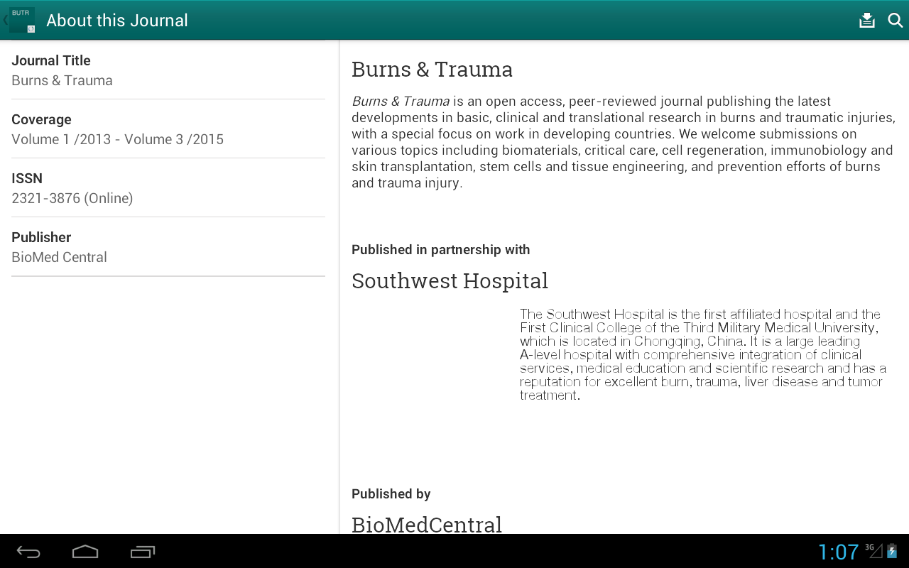 Burns and Trauma- screenshot