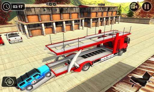 Vehicle Transporter Trailer Truck Game 1.4 screenshots 4