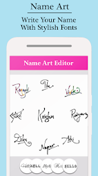 My Name Pics - Name Art APK screenshot thumbnail 1