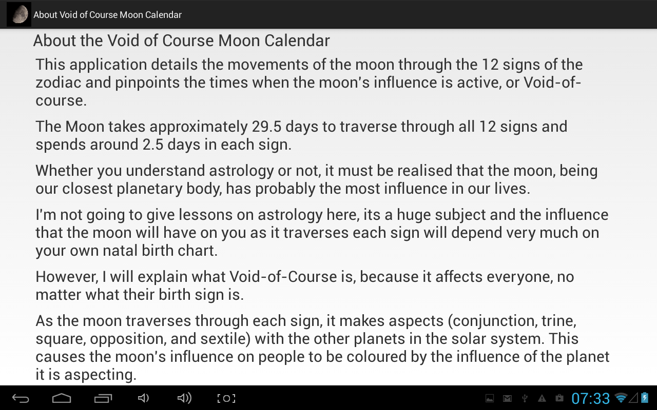 Void of course moon calendar android apps on google play void of course moon calendar screenshot geenschuldenfo Image collections