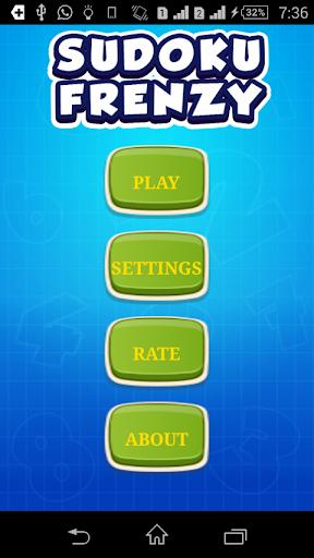 Sudoku Frenzy - Brain Trainer