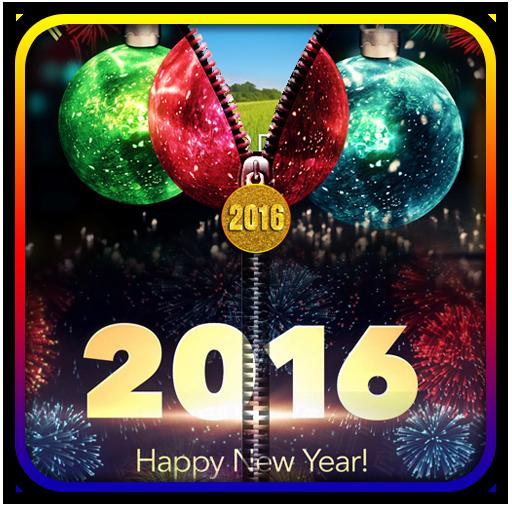 New Year 2016 Zipper UnLock 個人化 App LOGO-硬是要APP