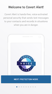 Covert Alert - Voice activated Safety Alert app- screenshot thumbnail