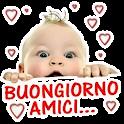 Buongiorno e Buonanotte Litaliano WAStickerApps icon