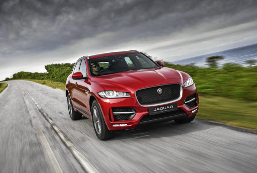 The Jaguar F-Pace.   Picture: JAGUAR SA