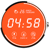 Gleamy Watch Face For Moto 360