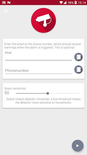 Motion Detector screenshot 1