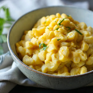 Dairy-free Mac and Cheese.