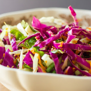 Asian Slaw // The Lazy Man's Lunch.
