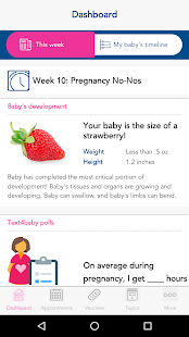 Text4baby: Pregnant & New Moms- screenshot thumbnail