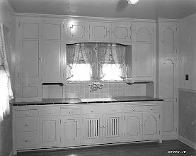Photo: 1935 model kitchen