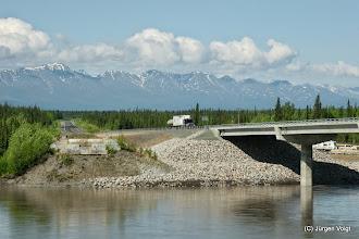 Photo: Brücke über den Tanana River bei Tok