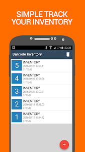 Barcode Inventory counter screenshot 1