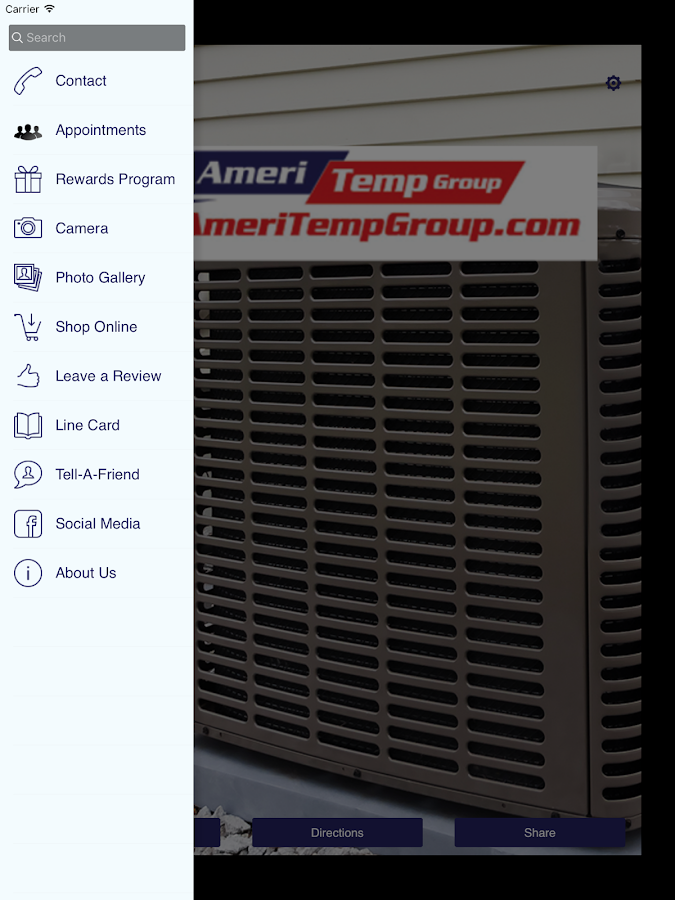AmeriTemp Group- screenshot