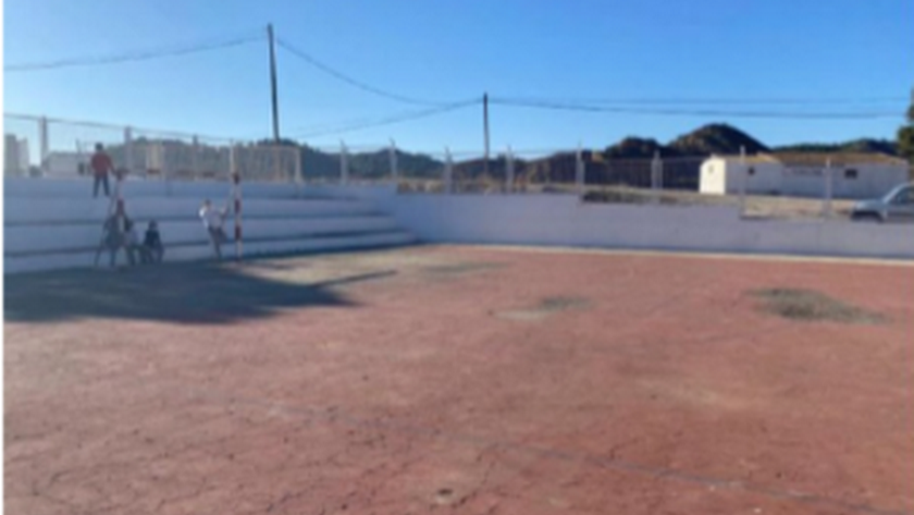 Instalaciones deportivas del centro.