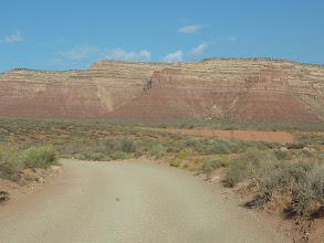 Photo: on va monter sur cette falaise un  peu plus loin