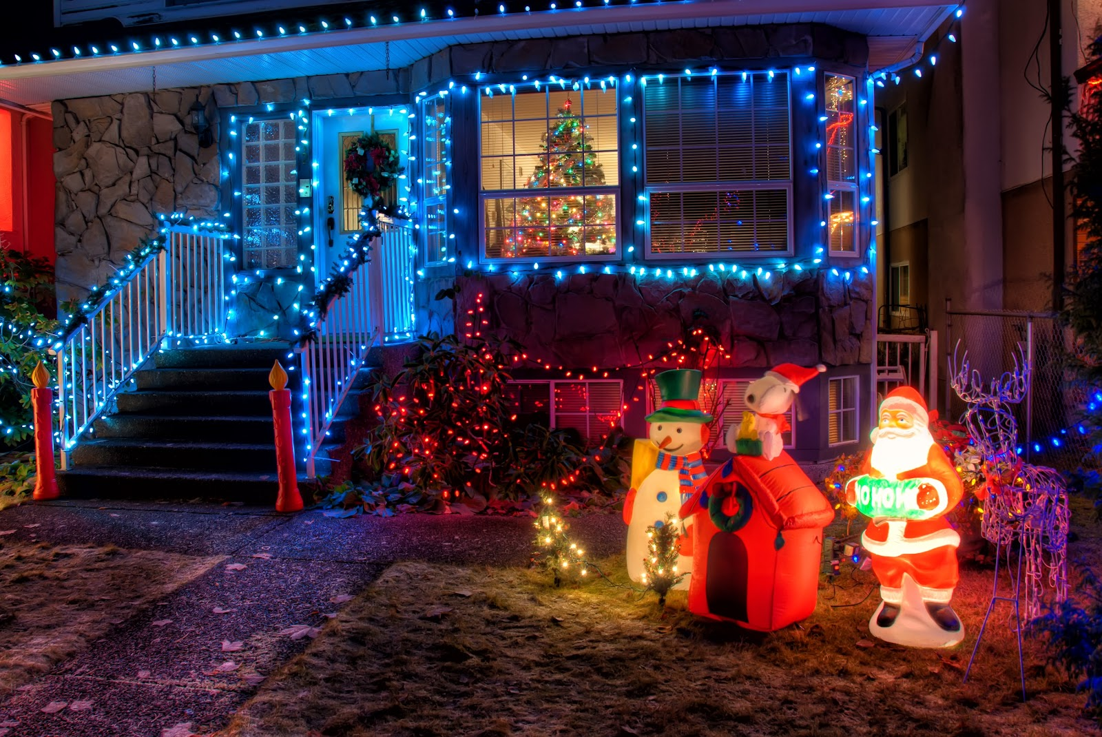 Portage christmas decoration contest