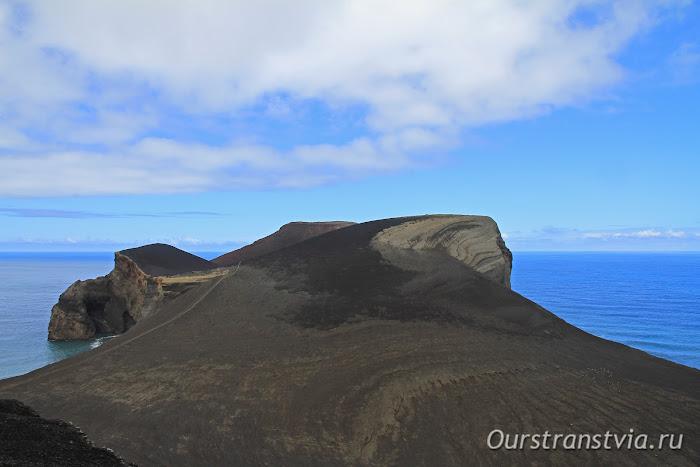 Извержение вулкана на азорском острове Фаял