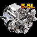 Turbo Engine 3D icon