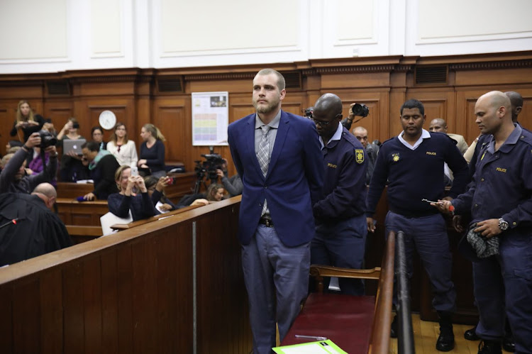 Henri van Breda was found guilty of murdering his mother, father and brother in the Cape Town High Court on May 21, 2018.