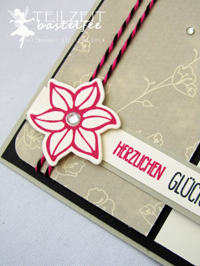 Stampin' Up! – In{k}spire_me #305, Hammer!, Nailed it, Falling Flowers, Framelits Build It, Framelits May Flowers, Birthday, Male, Female, Designerpapier Zum Verlieben