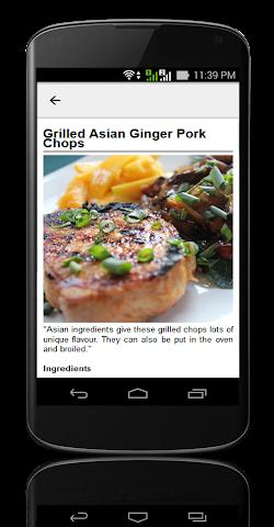 android Pork Chop Recipes ! Screenshot 4