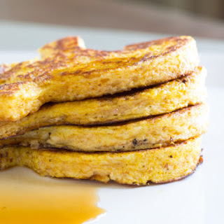 Halloween Pumpkin Spice French Toast