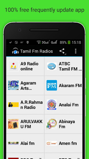 Tamil FM Radios by Senth (Google Play, United States