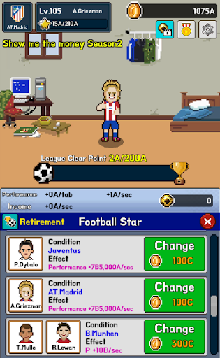 Soccer Star Clicker VIP - screenshot