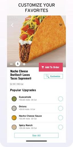 Taco Bell - Food & Rewards Apk 2