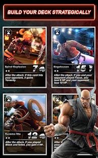 Tekken-Card-Tournament-CCG 1
