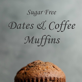 Sugar Free Dates & Coffee Muffins
